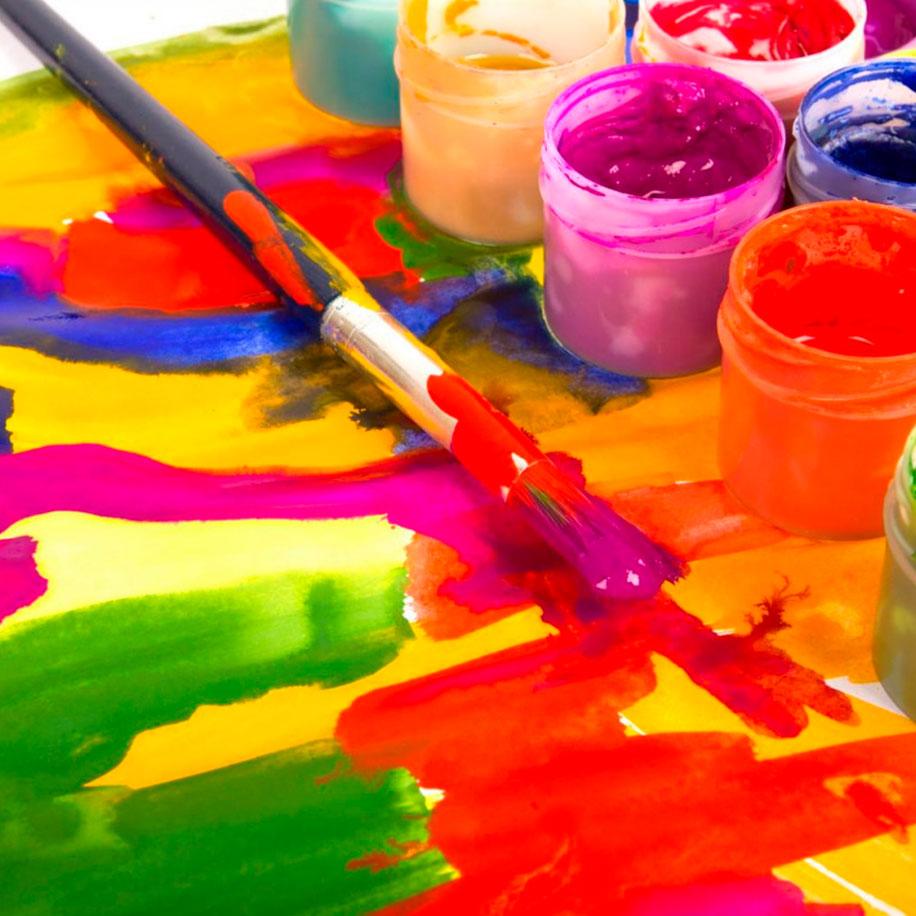 Студия изобразительного искусства «Яркие краски»