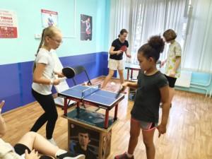 """В филиале """"Спортивно-досуговый центр """"Радуга"""" прошел турнир по мини настольному теннису."""
